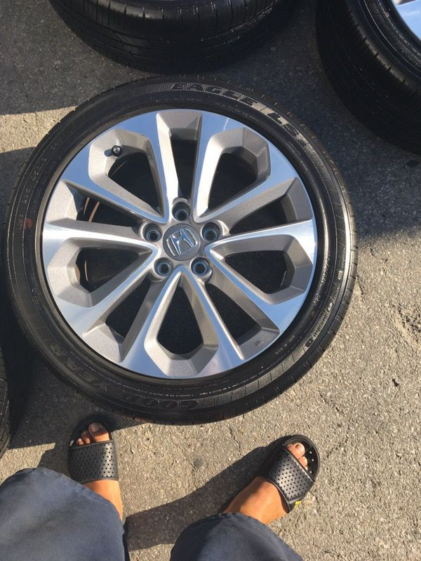 Accord Sport Rims Wheels Honda Rines Llantas Tires For In Bellflower Ca Offerup