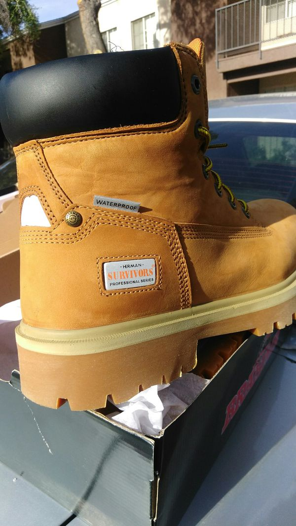 9cfc870305d Herman survivor pro series Steele toe work boots for Sale in Las Vegas, NV  - OfferUp