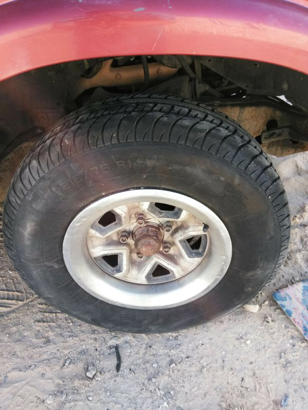 S10 rims wheels & tires for Sale in El Paso, TX - OfferUp