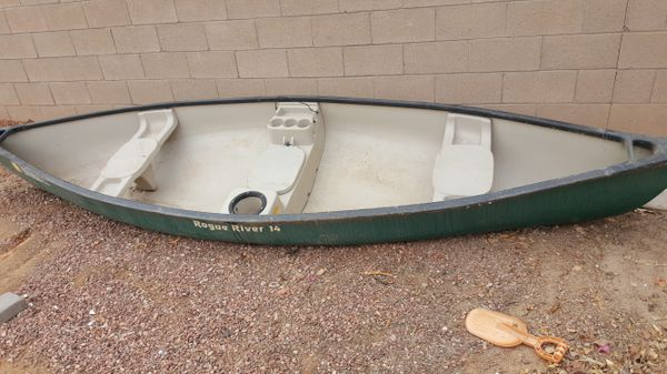 14ft rogue river canoe for Sale in Gilbert, AZ - OfferUp