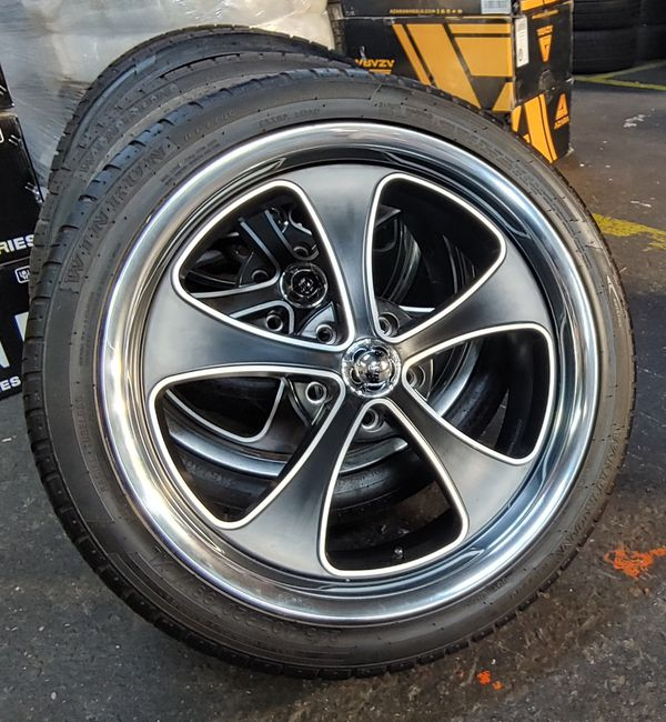 WHEELS AND TIRES 20x8.5 20x10 5x4 3/4 For Sale In Stockton