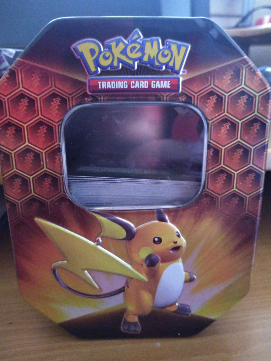 Deluxe Custom Pokémon Tins