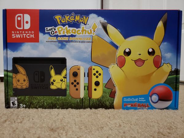 limited edition pokemon switch console