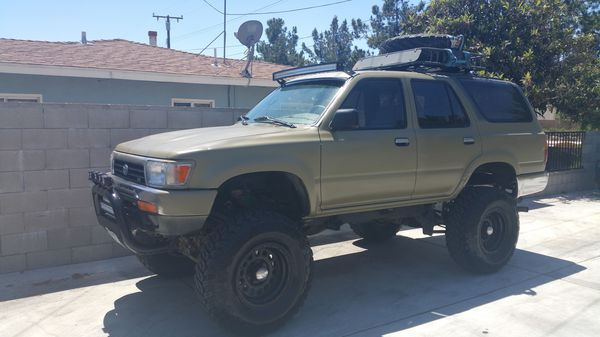 Toyota 4runner 93 4x4 Stick Shift For Sale In Fontana Ca Offerup