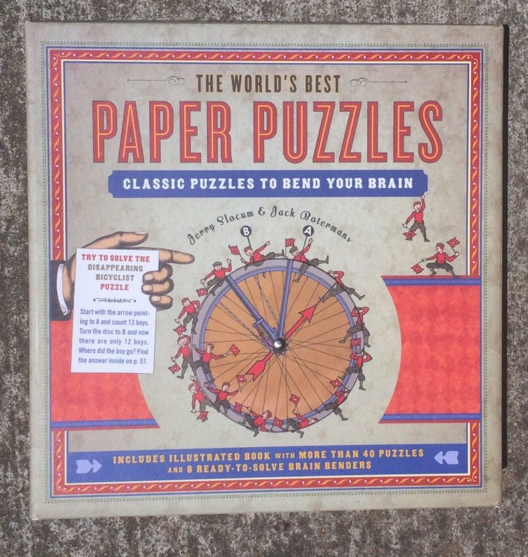 The Worlds Best Paper Puzzles Book