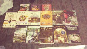 15 Misc. Computer games all unregistered for Sale in Denver, CO