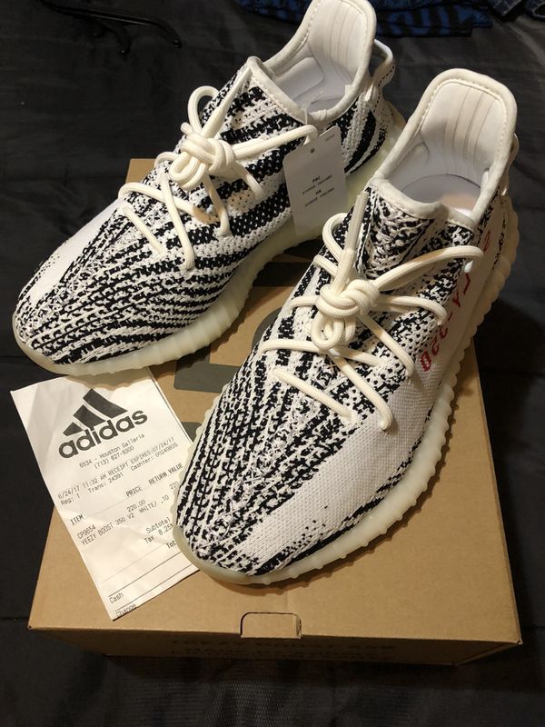 dbfc904541afa Adidas yeezy zebra v2 boost for Sale in Houston