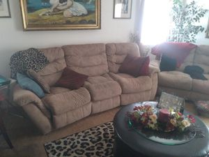 Reclining couch for Sale in Maricopa, AZ