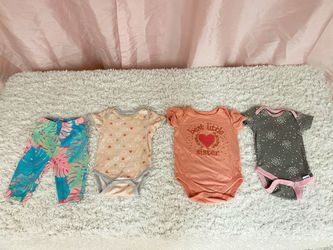Baby Girl 0-3 Months Clothes Lot Thumbnail