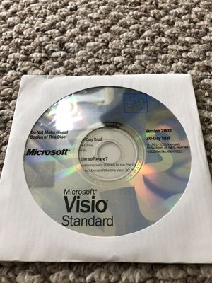 Microsoft Visio 2002 Standard with activation key. for Sale in Washington, DC