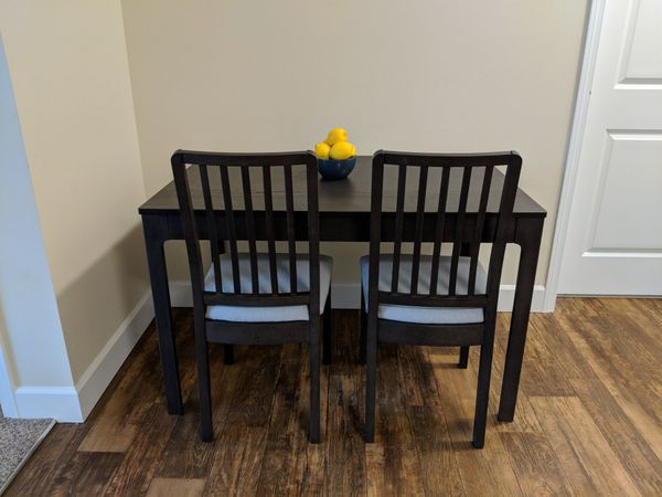Ikea Ekedalen Extendable Table 2 Chairs For Sale In Woodinville