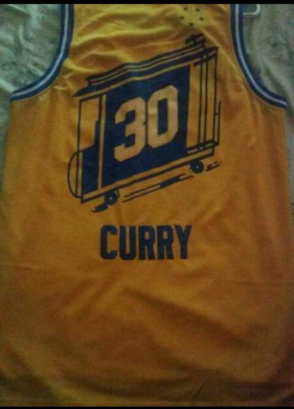 low priced 40d90 29434 Steph Curry retro (The City) Adidas jersey for Sale in Brockton, MA -  OfferUp