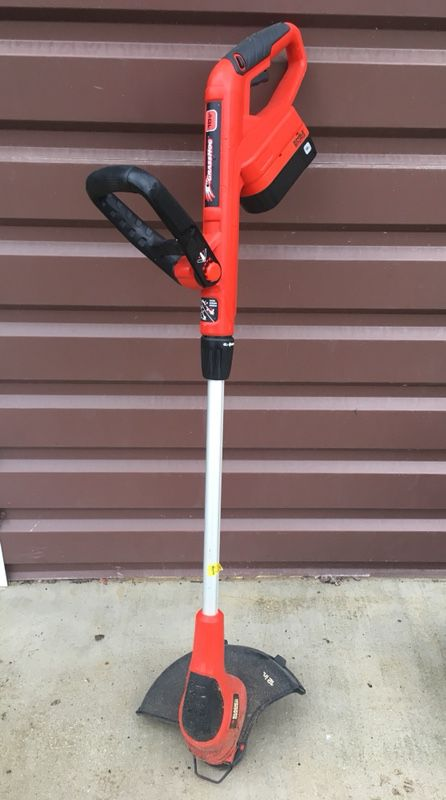 Black Decker Grass Hog 18v 12 Inch Weed Eater With 2 Batteries For Sale In Adkins Tx Offerup