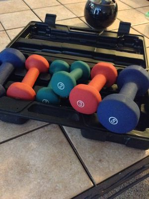 new and used dumbbells for sale in columbus oh offerup