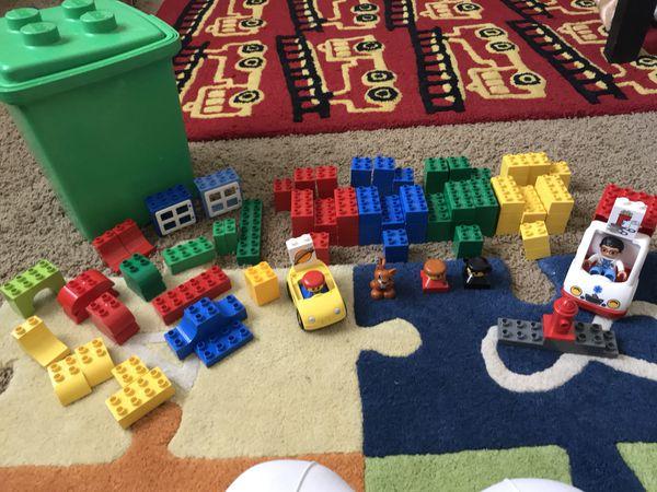 Lego Duplo Blocks In Bucket Games Toys In Mesa Az Offerup