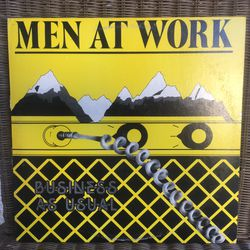 Men At Work Vinyl Record Thumbnail