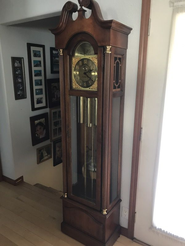 Howard Miller Grandfather Clock - Model 610-277 - $375 (Forest Grove) for Sale in Forest Grove ...