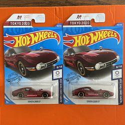 Hot Wheels Toyota 2000 GT Thumbnail