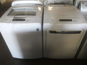 LG Top Load Washer and Dryer Set- WARRANTY for Sale in Atlanta, GA