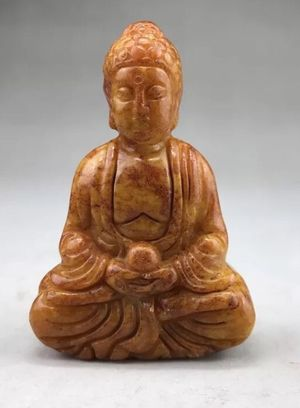 Natural Pure Jade Buddha praying statue for Sale in Chicago, IL