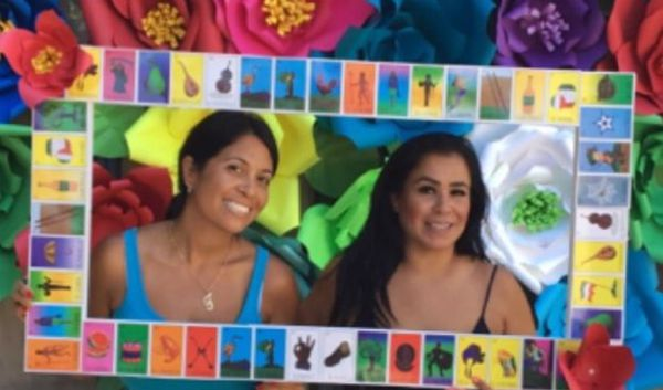 Loteria selfie frame photo frame party frame Mexican party cuadro de ...