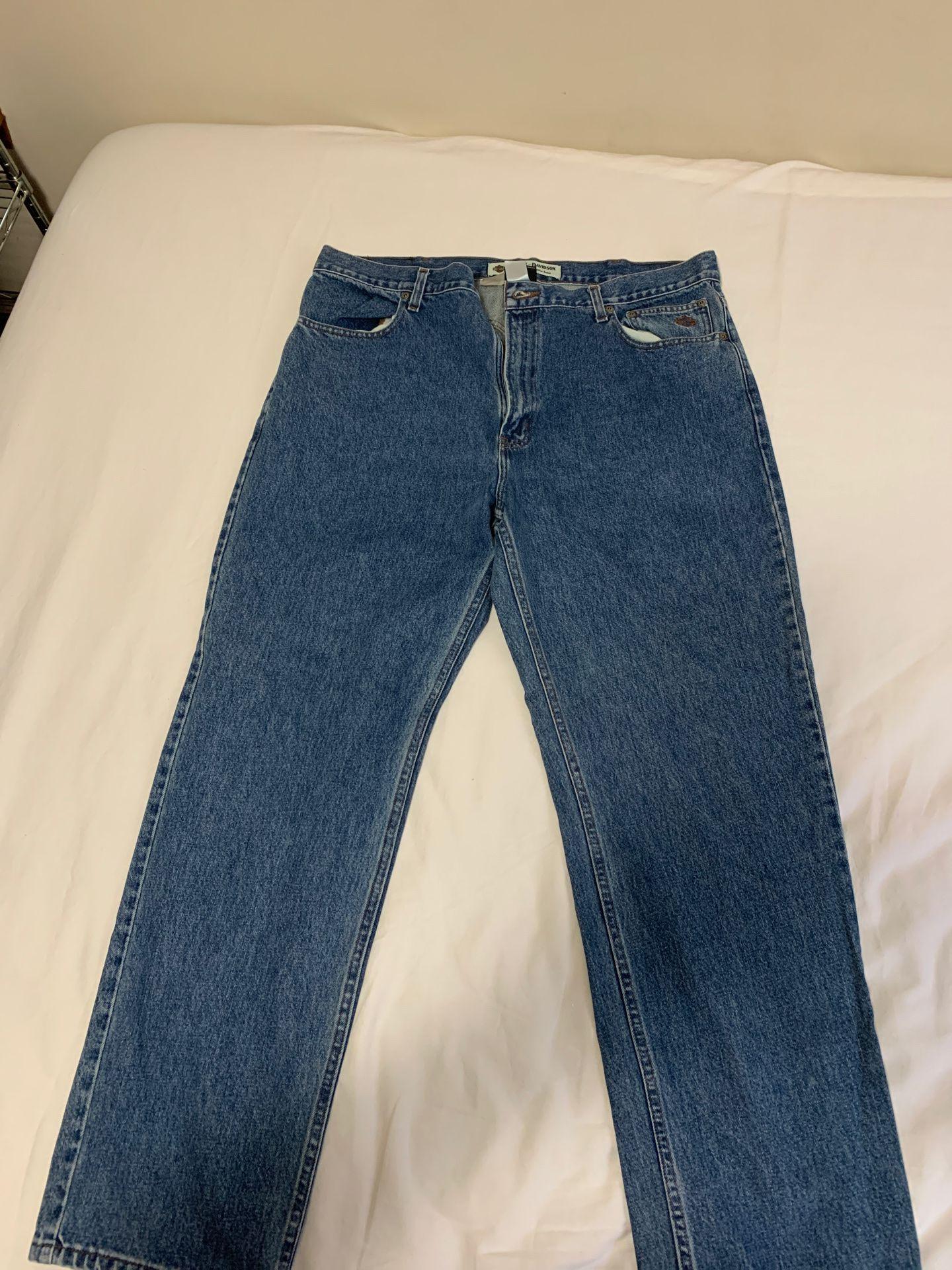 Harley-Davidson men's jeans size 40x32