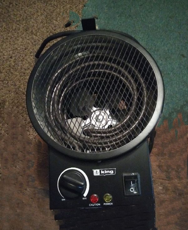 King Electric Portable Garage Heater for Sale in Salem, OR ...