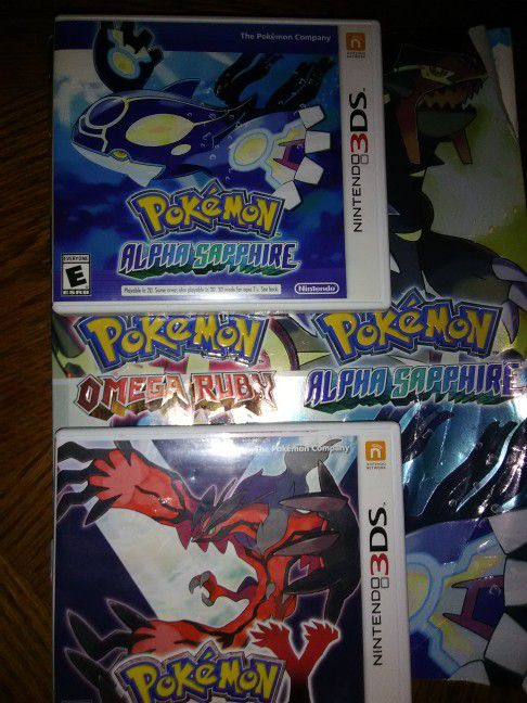 95c7830e8294 Pokemon games + book (worn) for Sale in Joliet