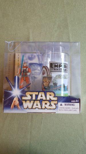 Star Wars Luke Skywalker and Commemorative Glass Set for Sale in Orlando, FL