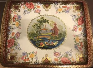 Vintage Asian Oriental Design Imported Tray for Sale in Reston, VA