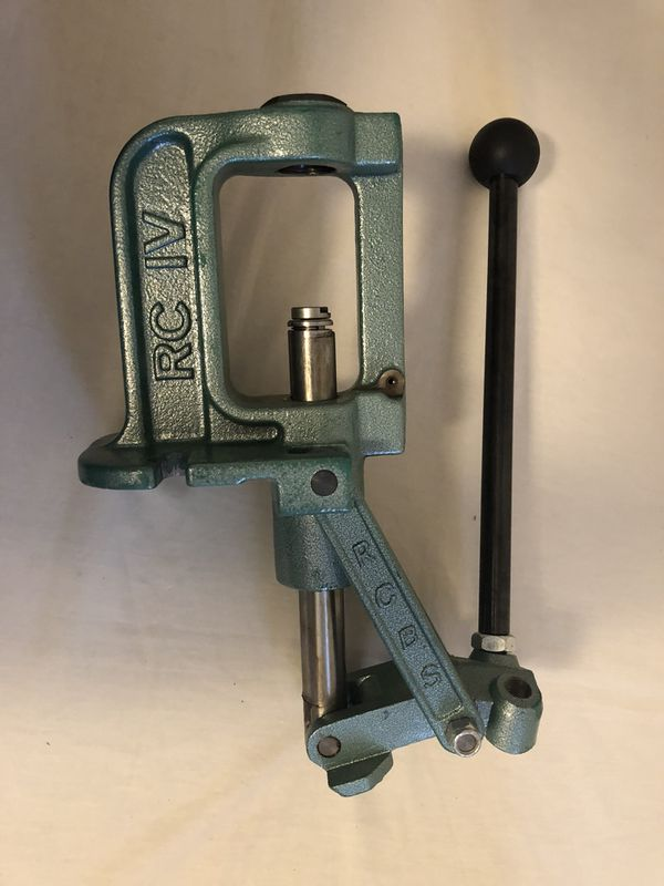RCBS 9356 Rock Chucker Supreme Reloading Press Cast Iron