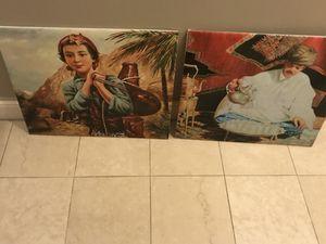 Morrocan art pictures frames for Sale in Detroit, MI