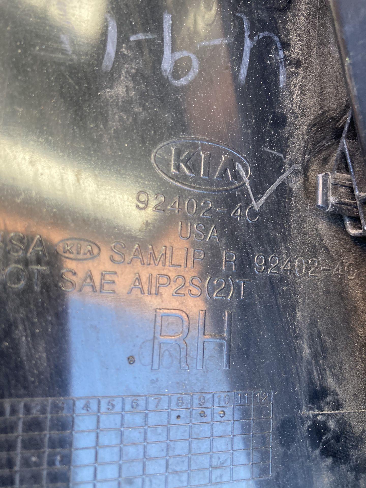 2011 to 2013 Kia Optima EX Tail Light Passenger Side Oem