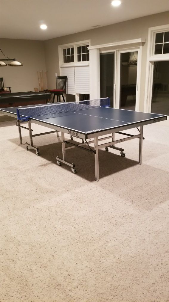 Brunswick Ping Pong Table