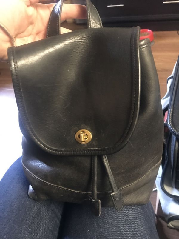6a7e6c967 VINTAGE COACH 9791 Men's BackPack for Sale in Everett, WA ...