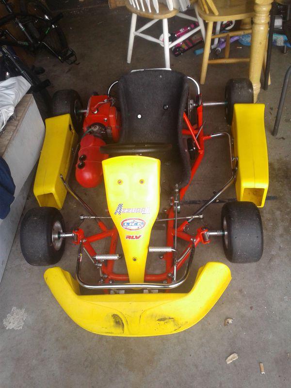 Go kart Emik kids race kart comet k-80 motor. (Motorcycles) in ...