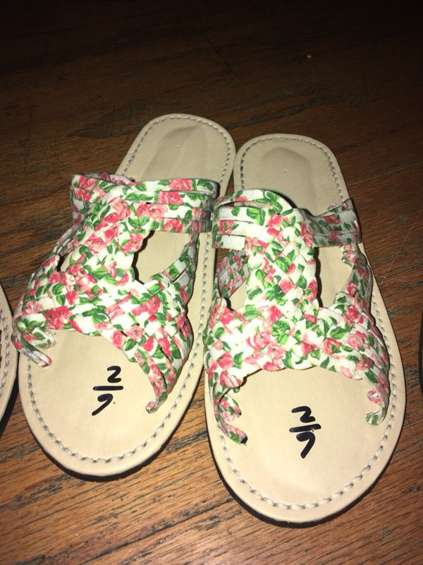 Flower print huaraches from Michoacan for Sale in Dallas 734f6d971