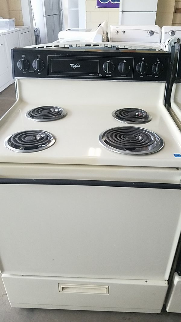 Whirlpool Stove coil top clean and beautiful! (Appliances) in Tampa ...