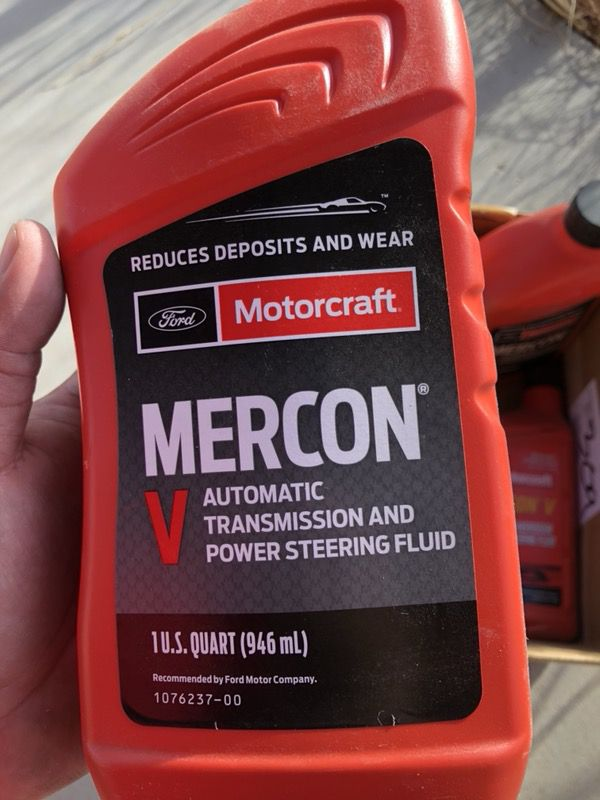 Motorcraft Mercon V Ford Transmission Fluid for Sale in Chino Valley, AZ -  OfferUp