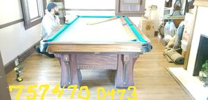 Ft Cannon Slate Pool Table With A Lot Of Accessories For Sale In - Pool table movers virginia