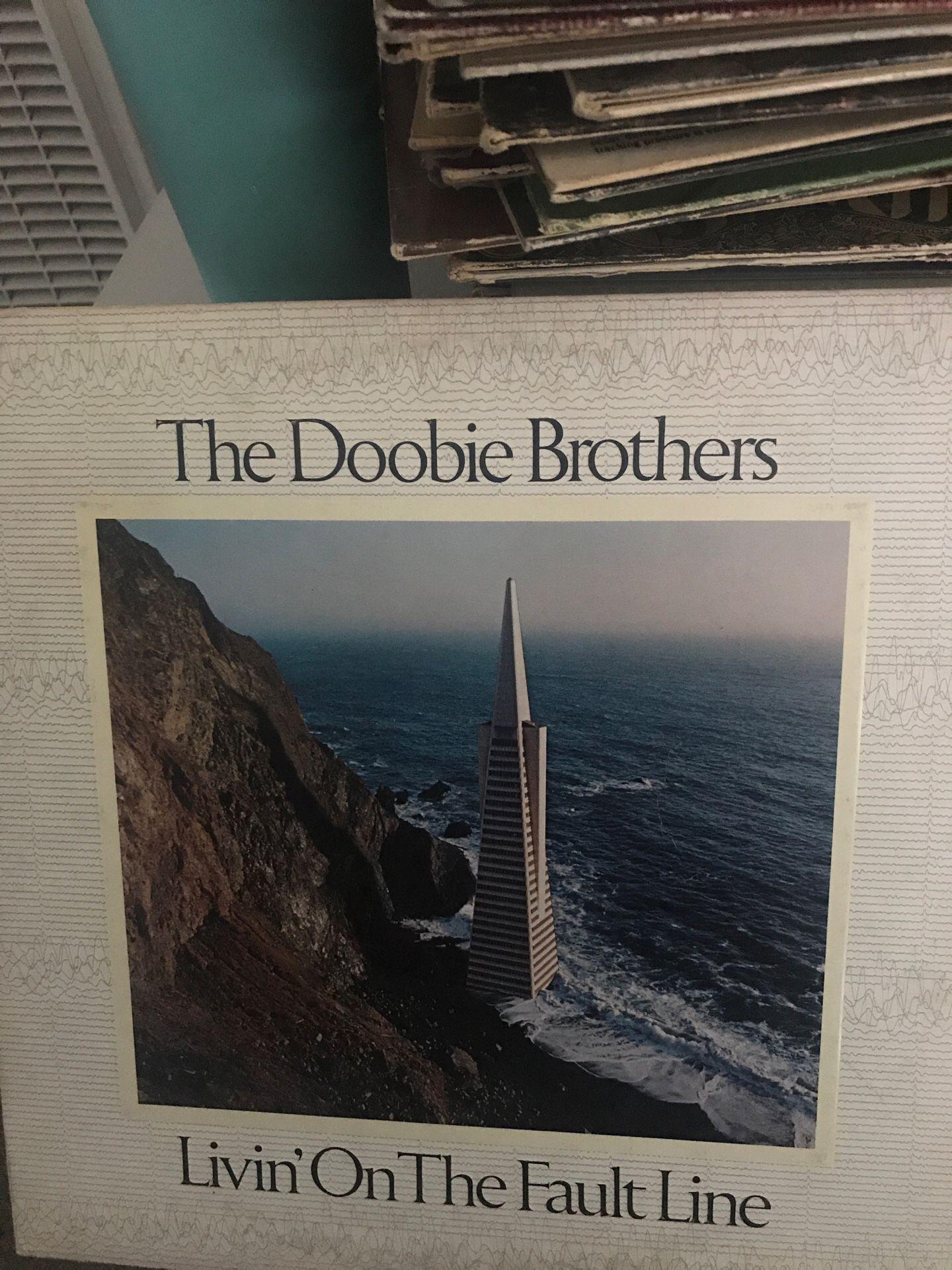 Original The Doobie Brothers Livin on the fault line Vinyl