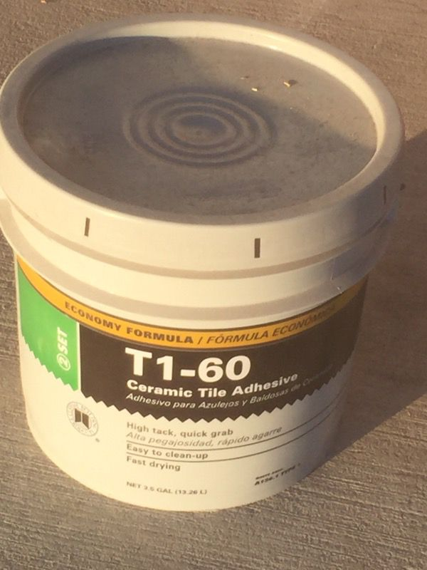 Ceramic Tile Adhesive For Sale In Forest Hill TX OfferUp - Fast drying tile adhesive