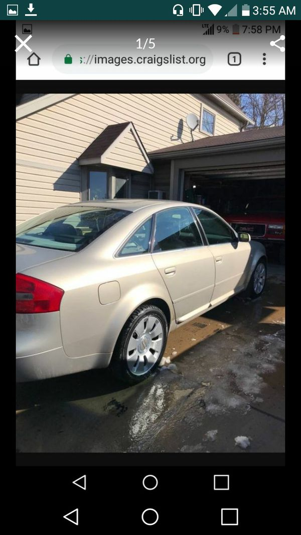 00 Audi A6 Q 4 2 needs transmission work for Sale in Cleveland, OH - OfferUp