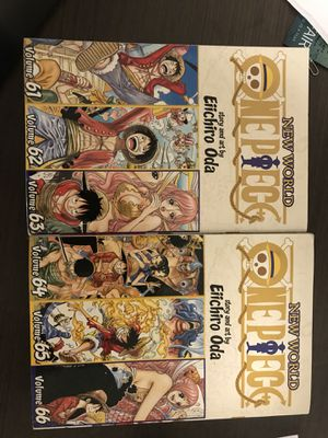 One Piece (Omnibus Edition), Vol.21 and 22 for Sale in Cleveland, OH