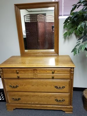 Nice Sumter Dresser with mirror for Sale in Columbus, OH