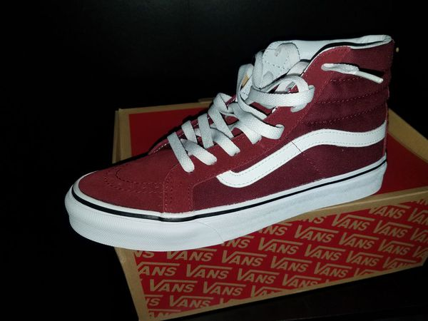 89c7ad7c9cbecd Vans sk8 hi windsor wine size 6.5  45 for Sale in Los Angeles