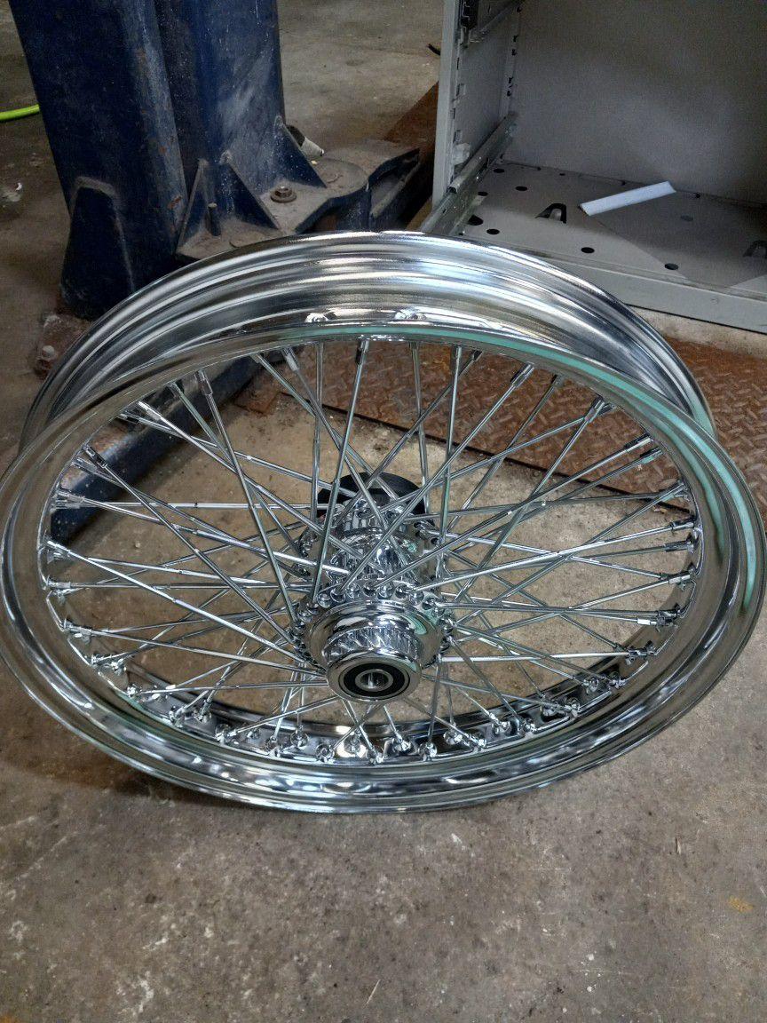 Photo 2000 Harley Wide Glide Front Rim 21
