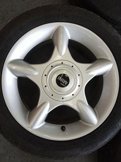 Mini Cooper wheels and tires 16 inch Thumbnail