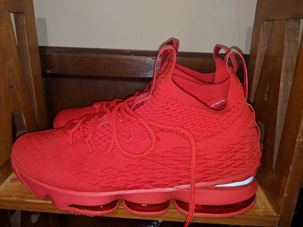 differently 48c8c a2026 All Red Lebron 15s for Sale in US - OfferUp