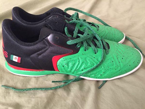 aa492ea0191 Adidas x 15.2 Court Mexico Flag Indoor Soccer Men s Shoes Sz 10.5 ...